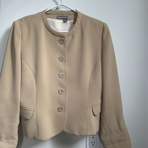 Tristan & Iseut fitted suit jacket blazer